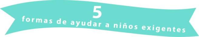 5formasdeayudarniñosexig